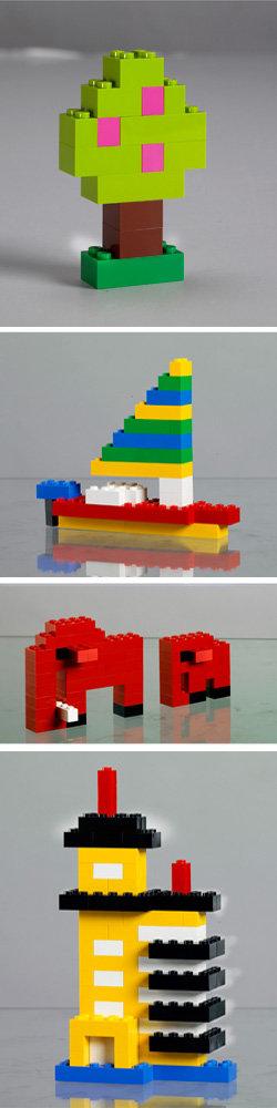 lego 搭建图纸
