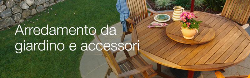 Arredamento da giardino e accessori giardino e giardinaggio ombrelloni tende e - Offerte tavoli da giardino ...