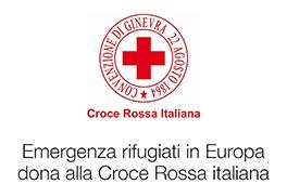 Dona alla Croce Rossa italiana