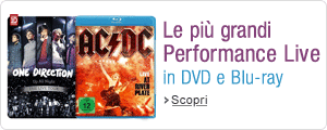 Concerti e Performance Live in DVD e Blu-ray