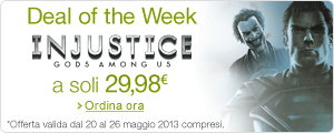 Deal Of The Week: 'Injustice: Gods Among Us - Special Amazon Edition a soli 29,98 EUR'