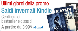 Offerte ebook Kindle su Amazon.it: tutto a 3,99€