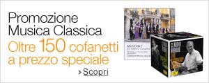 Promozione Cofanetti di Musica Classica