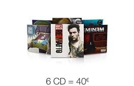 6 CD = 40 EUR