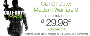 Promozione 'Call Of Duty: Modern Warfare 3' a 29,98 EUR