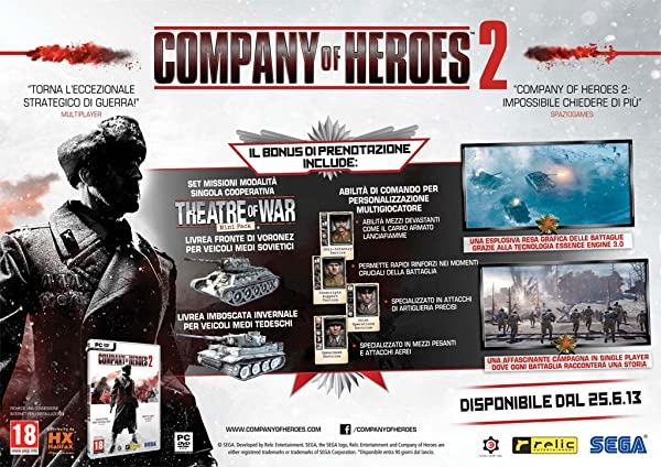 Company Of Heroes 2  - Bonus Theatre of War Mini Pack
