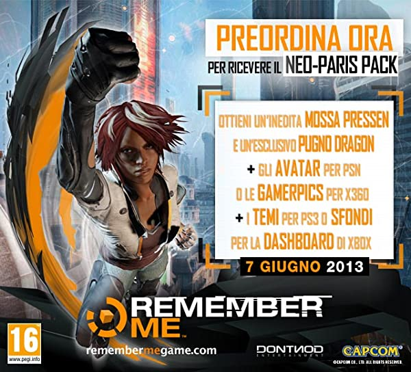 Remember Me: DLC 'Neo-Paris Pack'