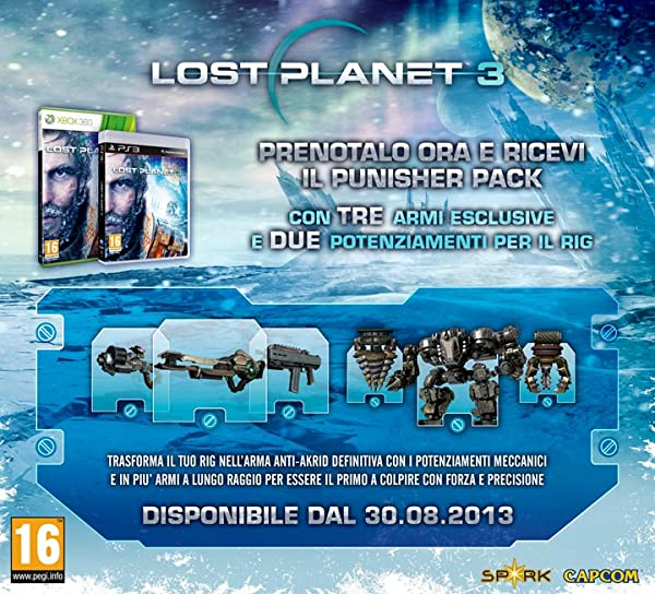 Lost Planet 3: DLC Bonus PUNISHER PACK