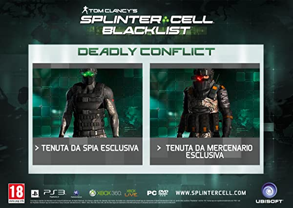 Tom Clancy's Splinter Cell: Blacklist - ULC Bonus Deadly Conflict