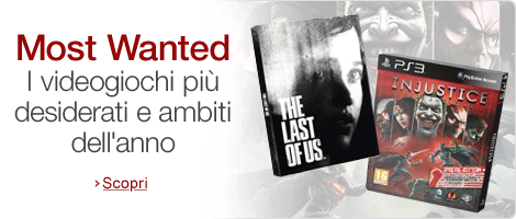 Most Wanted - Videogiochi imperdibili
