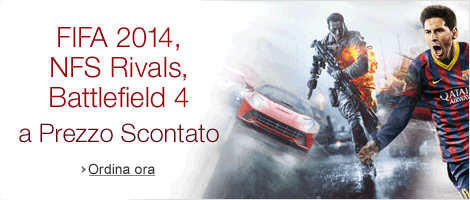Need for Speed: Rivals, FIFA 2014, Battlefield 4 a Prezzo Scontato