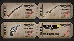 Sniper Elite III - DLC The Hunter Weapons Pack