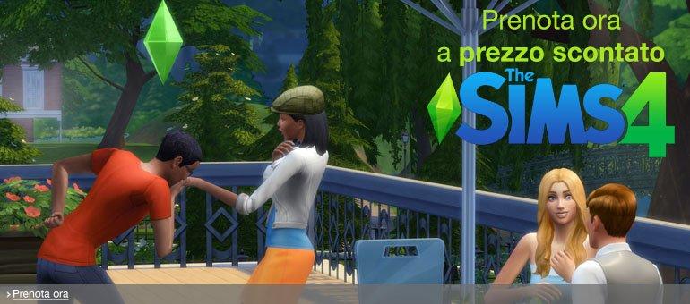 Prenota ora The Sims 4 a prezzo scontato