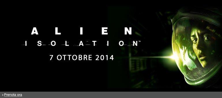 Prenota ora Alien Isolation