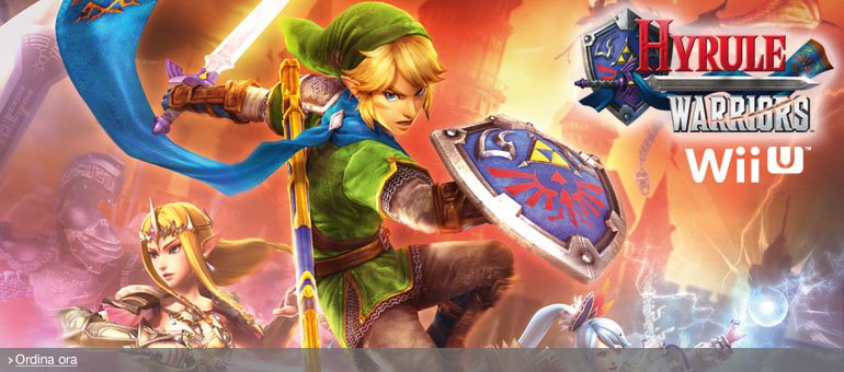 Ordina ora Hyrule Warriors