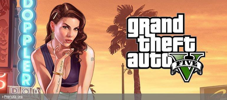 Prenota ora GTA V per PS4, Xbox One e PC