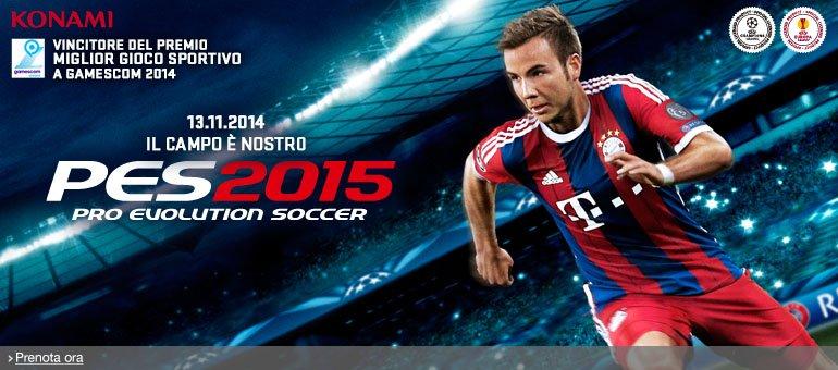 Prenota ora Pro Evolution Soccer 2015 D1 Edition