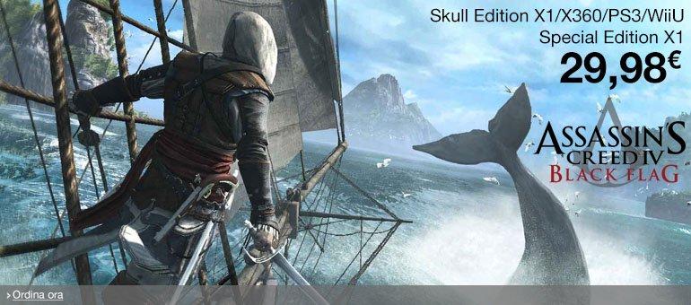 Ordina ora Assassin's Creed IV: Black Flag