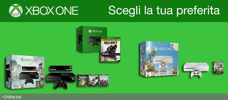 Ordina ora Xbox One
