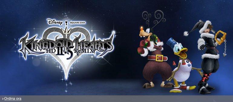 Ordina ora Kingdom Hearts HD II.5 ReMIX