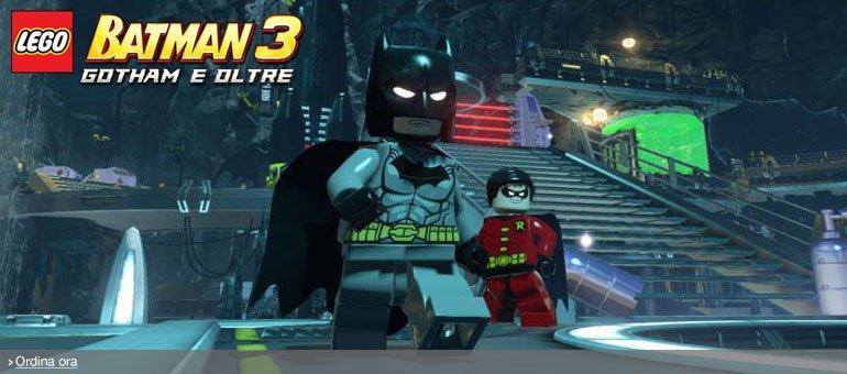 Ordina ora Lego Batman 3