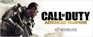 Prenota ora Call of Duty Advanced Warfare
