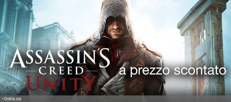 Ordina ora Assassin's Creed Unity a prezzo scontato