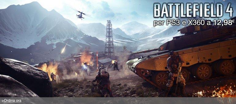 Ordina ora Battlefield 4 per PS3 e X360 a 12,98 EUR