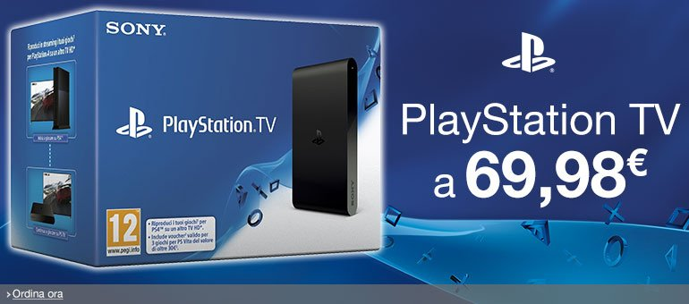 Ordina ora PlayStation TV a 69,98 EUR