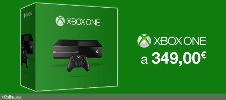 Ordina ora Xbox One a 349,00 EUR