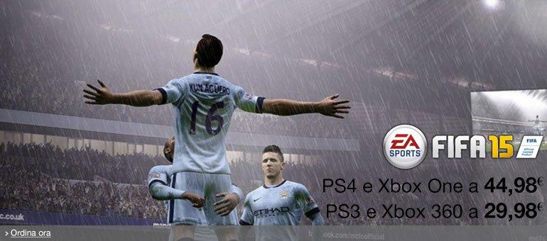 Ordina ora FIFA 15 a prezzo scontato