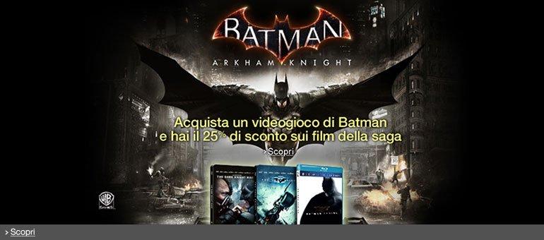 Scopri la promozione Batman