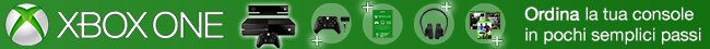 Ordina la tua Xbox One completa di tutto ciò che ti serve in pochi semplici passi