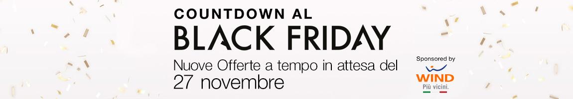 Il Black Friday è in arrivo