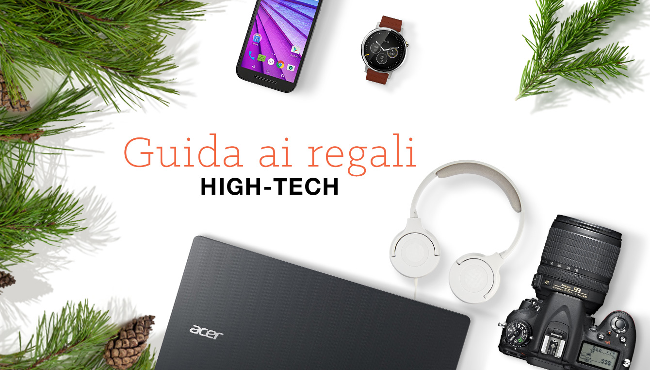 Guida ai regali High-Tech