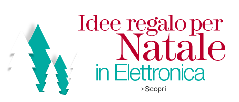 Idee regalo per Natale in Elettronica