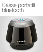Casse portatili bluetooth