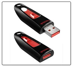 SanDisk Ultra USB Flash Drive Product Shot