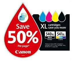 Riduzione dei costi di stampa con le cartucce XL FINE