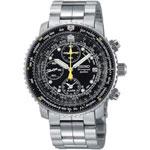 Seiko Flight Alarm Chronograph - Orologio da uomo