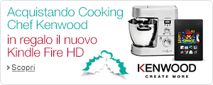 Kenwood ti regala il nuovo Kindle Fire HD