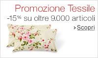 Promozione Tessili -15%