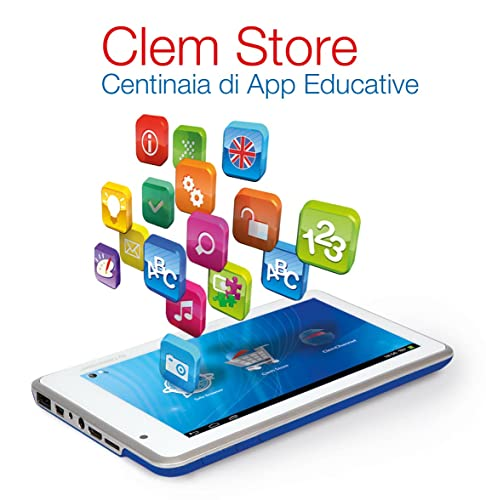 Clementoni 13645 Clempad Android Tablet, Wi-Fi, 3G