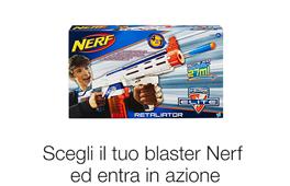 Scegli il tuo blaster Nerf