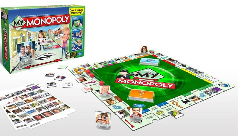 Hasbro a8595103 my monopoly amazon it giochi e giocattoli