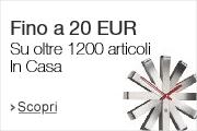 Fino a 20 EUR di sconto in Casa