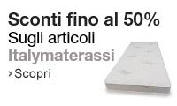 Articoli Italymaterassi in promozione