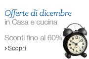 Offerte di dicembre - Sconti fino al 60%