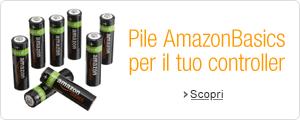 Pile AmazonBasics per il tuo controler