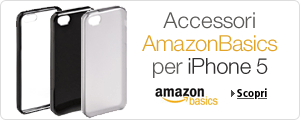 Accessori AmazonBasics iPhone 5